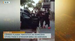 Corbélia: câmera flagra tentativa de homicídio