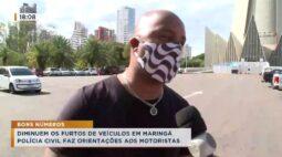 Diminuem os furtos de veículos em Maringá, polícia civil faz orientações aos motoristas