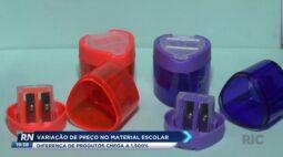 Variação de preço no material escolar: diferença de produtos chega a 1 500%
