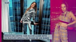 Música de Anitta com Major Lazer está na playlist oficial da posse de Joe Biden