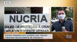 Nucria prende dois homens que teriam abusado sexualmente de crianças