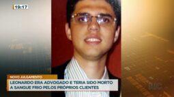 Novo julgamento: Leonardo era advogado e teria sido morto a sangue frio pelos próprios clientes
