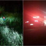 Jovem morre após carro despencar em ribanceira, em Itaperuçu