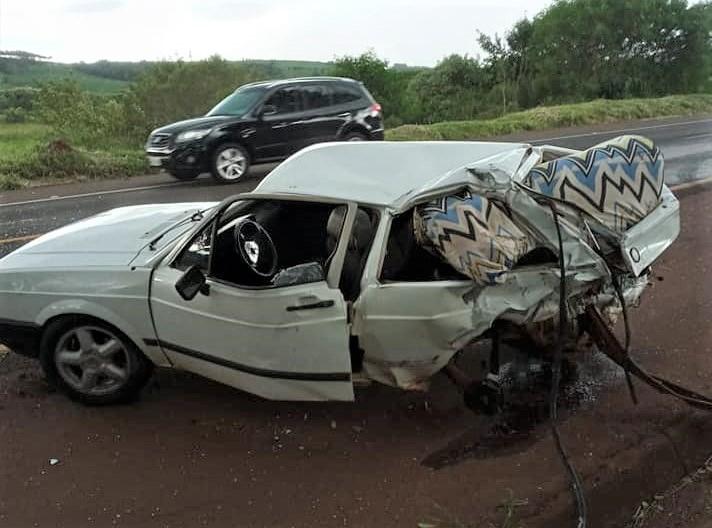 Criança de 5 anos morre após ser ejetada de veículo em acidente no norte do Paraná