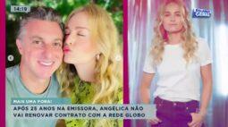 Após 25 anos na emissora, Angélica não vai renovar contrato com a Rede Globo