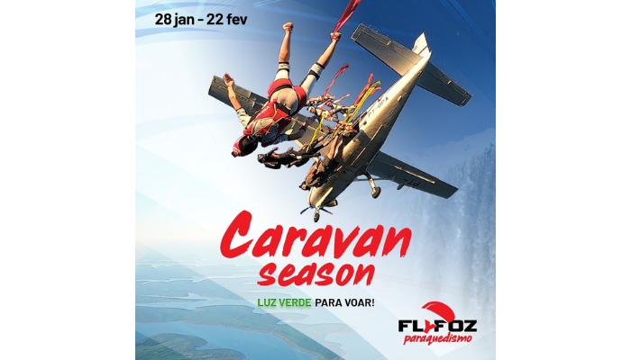 Paraquedismo, arte e música: Caravan Season terá atrações para toda a família