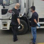 Carga de carne avaliada em R$ 120 mil é recuperada horas após roubo