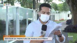Servidor da prefeitura de Marialva é preso