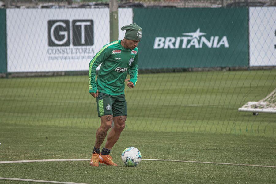Coritiba faz penúltimo treino antes de encarar o Vasco