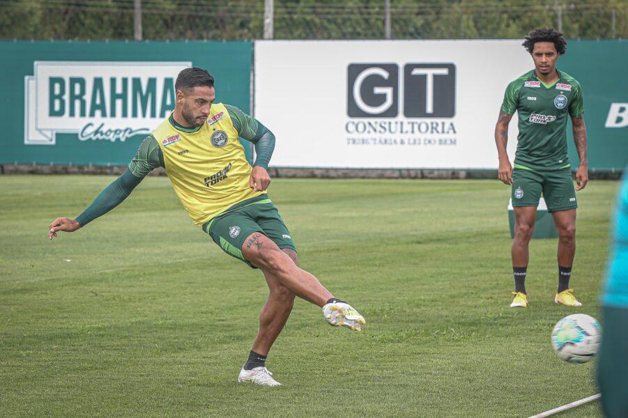 Coritiba segue treinando de olho no jogo contra o Grêmio