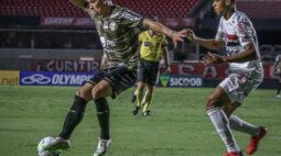 Coritiba empata com o São Paulo no Morumbi pelo placar de 1×1
