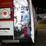 Motorista morre após bater o carro contra muro, em Ponta Grossa