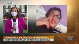 Caso Rebeca: adolescente desaparecida é encontrada em terminal de ônibus