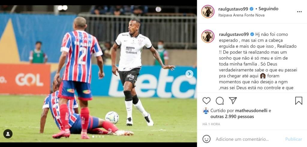 Gabriel quebra jejum de gols, e Raul estreia pelo Corinthians