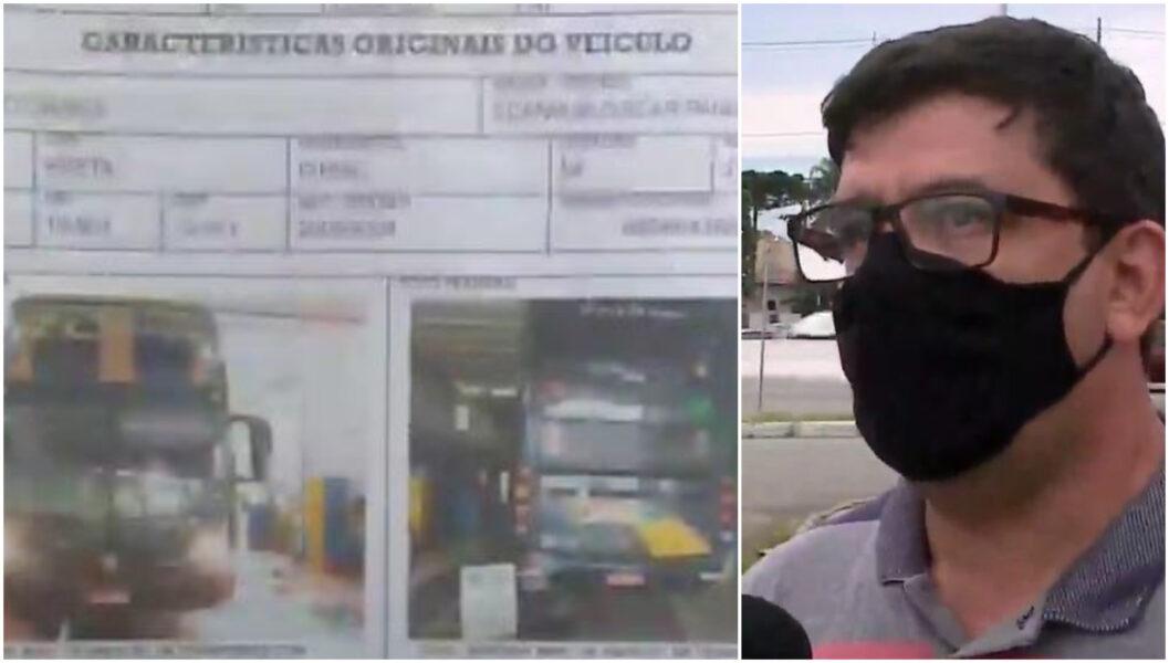 """""""O carro não tinha problema"""", declara dono de empresa de ônibus que tombou em Guaratuba"""