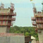 Segunda ponte entre Brasil e Paraguai está com 44% das obras concluídas