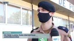 Polícia Militar pede ajuda para encontrar arrombadores em Cascavel