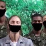 Exército apaga fotos em que militares usavam máscaras desenhadas