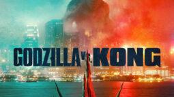 Godzilla vs Kong ganha novo pôster