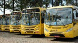 Trabalhadores realizam greve no transporte coletivo de Londrina por falta de pagamento
