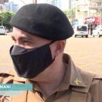 Homem empina moto, foge da polícia e acaba preso por direção perigosa