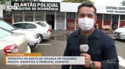 Tentativa de rapto de criança em Paiçandu, polícia identifica o principal suspeito