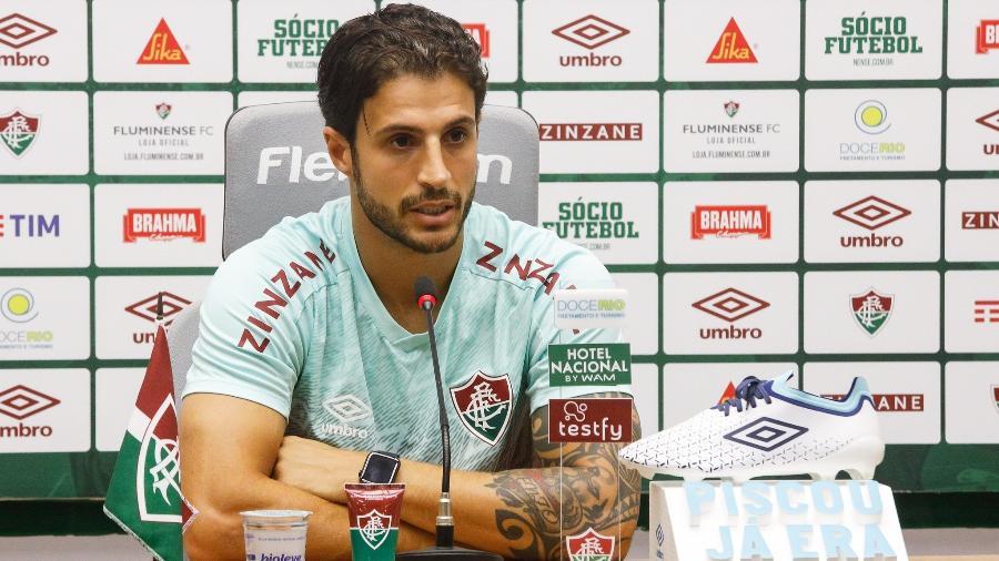 Perto do fim de seu empréstimo, Hudson deseja seguir no Fluminense