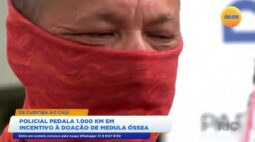 Policial pedala 1000 KM em incentivo a doação de medula óssea