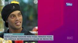 Ronaldinho Gaúcho não paga pensão para ex no valor de 100 mil reais