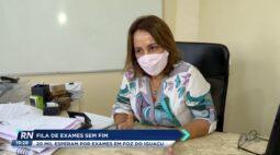 20 mil esperam na fila por exames em Foz do Iguaçu