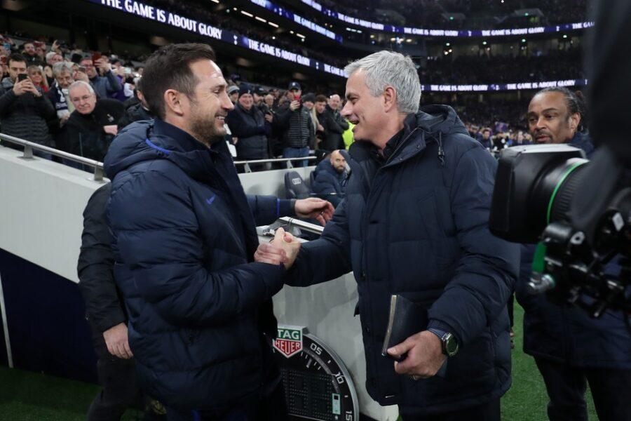 José Mourinho lamenta demissão do Lampard no Chelsea