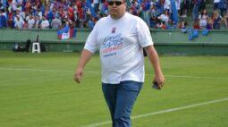 Próximo da Série C, Leonardo Oliveira pede renúncia do cargo de presidente do Paraná Clube