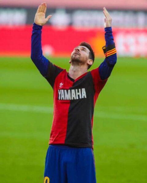 Messi terá que pagar multa por homenagem a Maradona