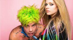 """Avril Lavigne lança música """"Flames"""" em parceria com MOD SUN"""