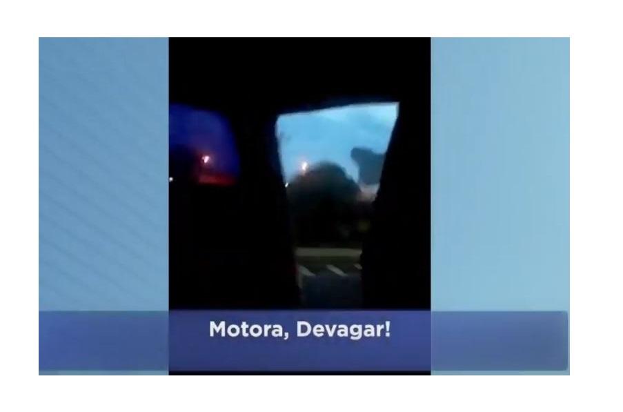"""""""Motora, devagar"""", disse vítima fatal de acidente com ônibus em vídeo"""