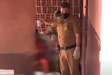 Mulher é internada na UTI após ser algemada e ter corpo retalhado por homem, em Londrina