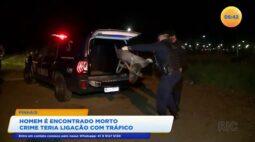 Homem é encontrado morto o crime teria ligação com o tráfico