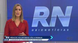 Médicos voluntários vão a Manaus para ajudar no atendimento de pacientes