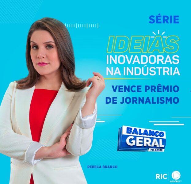 Balanço Geral Oeste, da RIC Record TV, conquista o primeiro lugar no Prêmio Faciap de Jornalismo