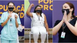 Vacinação Curitiba: confira quem foram os oito primeiros vacinados no Paraná