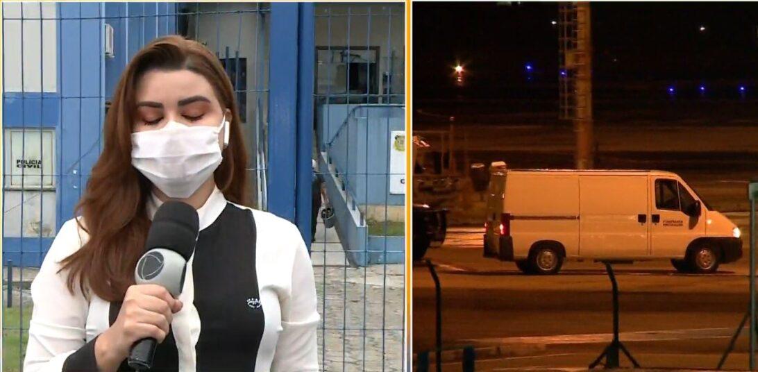 Repórter paraense chora ao vivo ao relatar chegada dos corpos das vítimas da tragédia no Paraná