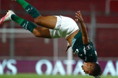 Palmeiras atropela River Plate na Argentina e abre vantagem para ir à final da Libertadores