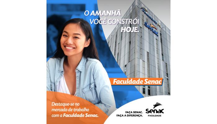 Faculdade Senac PR oferece 10 novos cursos de graduação e dois de pós-graduação
