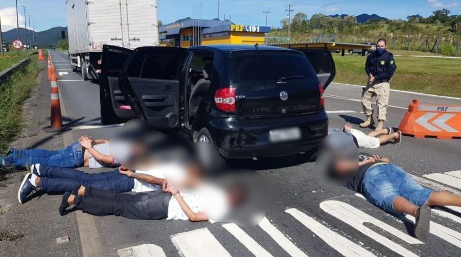 Grupo de criminosos que assaltou joalheria em shopping de Curitiba é preso