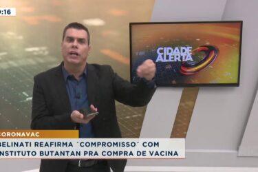 Londrina atinge 493 mortes e quase 25 mil casos confirmados. O prefeito foi até SP negociar vacinas