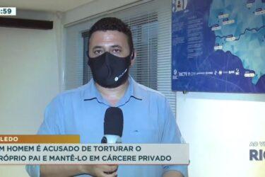 Homem é acusado de torturar o próprio pai e mantê-lo em cárcere privado em Toledo
