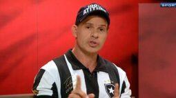 Túlio Maravilha publica vídeo de apoio ao Botafogo