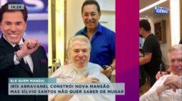 Irís Abravanel constrói nova mansão mas Sílvio Santos não quer saber de mudar