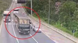 Vídeo acidente Guaratuba: imagens mostram momento exato da tragédia na BR-376