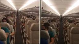 Comandante de voo é aplaudida após anunciar o transporte da carga das vacinas contra a covid-19, veja o vídeo